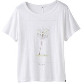 Prana Chez Shortsleeve Shirt Women white